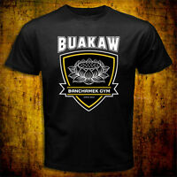 New Buakaw Banchamek K-1 MMA fighter Muaythai Thai boxing Kickboxing T-shirt Tee