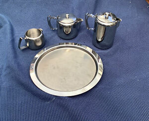 Quality Old Hall stainless steel Water Jug Teapot Milk Jug Serving Tray