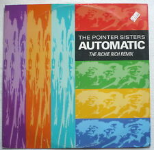 """POINTER SISTERS - Automatic (The Richie Rich remix) - UK-12""""-Maxi"""