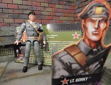 GI JOE ~ 2006 LT. GORKY ~ 100% COMPLETE & FILE CARD ~ OKTOBER GUARD COMMANDER