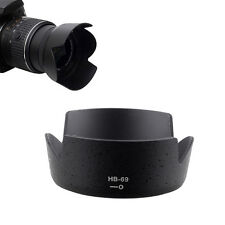 HB 69 Lens Hood For Nikon AF S DX 18 55mm F/3.5 5.6G VR II D3300 D5300 D3200