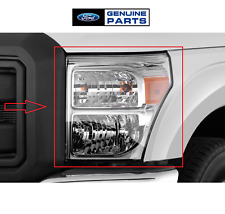 For Ford F-250-F-550 Super Duty 11 -16 Driver Left Headlight Assembly Genuine