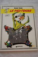 LUCKY LUKE LE PIED TENDRE-MORRIS GOSCINNY-1982 DARGAUD