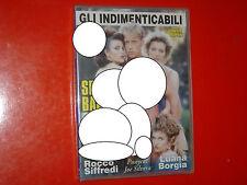 """DVD SEALED(GLI INDIMENTICABILI)""""SFONDATA & BAGNXXX""""LUANA BORGIA-ROCCO SIFFREDI"""
