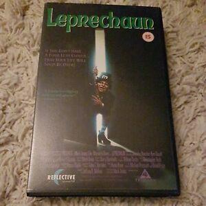 LEPRECHAUN - REFLECTIVE - HORROR - BIG BOX - VHS - EX RENTAL