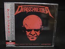 DIRKSCHNEIDER Live - Back To The Roots - Accepted ! + 1 JAPAN 2CD Accept Bullet