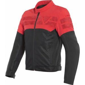 Jacket Man Motorcycle Dainese Air-Track Tex Black Red