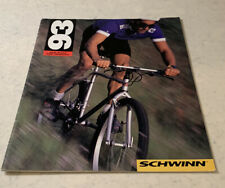 1993 Schwinn Product Catalog, Collectible