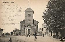 3868/photo AK, Gaudach, Jouy aux Arches, église, 1918