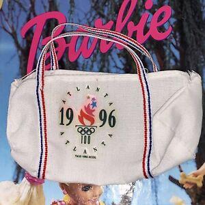 Vintage Barbie Gymnast 1996 Atlanta Olympics Gym Bag RARE VHTF