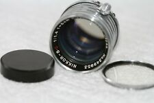【Rare Exc++】 Nikon Nikkor-S.C 5cm 50mm F1.4 Leica Screw Mount  Lens#144