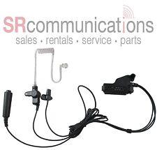 Police Tactical Headset Lapel Mic for Motorola XTS5000 XTS3000 XTS2500 XTS1500