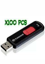 x100 (Pcs) TRANSCEND JETFLASH  4GB USB 2.0 USB FLASH DRIVE.