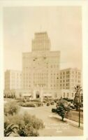 Autoa El Cortez Hotel San Diego California RPPC Photo 1920s Postcard 20-2234