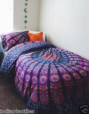 New Indian Duvet Doona Mandala Hippie Bohemian New Quilt 2 pillow Cover Blanket