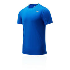 New Balance Mens Accelerate Running T Shirt Tee Top Blue Sports Breathable