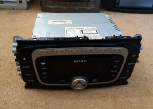 Ford Sony Focus MP3 Player Radio Unit + Code Warranty No Reserve
