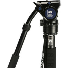 SIRUI P424SR Pro Monopod F/ Camera  Carbon Fiber  w/VH-10x Head USA