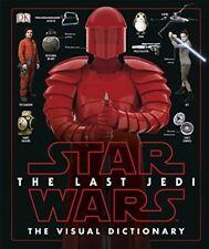 Star Wars The Last Jedi The Visual Dictionary by Pablo Hidalgo New Hardback Book