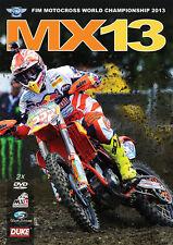 MX13 Motocross World Championship - Official review 2013 (New 2 DVD set) NTSC