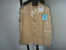 NWT  J. Crew  Wallace & Barnes garment-dyed chore blazer khaki 40R