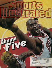 1997 Michael Jordan Sports Illustrated 6/9/97 SI magazine BULLS Gimme Five FINAL