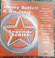 LEGENDS KARAOKE CDG JIMMY BUFFETT & JIM CROCE OLDIES COUNTRY  #28 15 SONGS CD+G