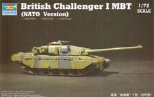 Trumpeter 1/72 Model Kit 07106 British Challenger 1 MBT