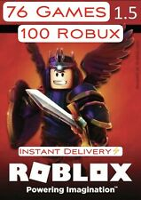 Roblox   100 Robux CODE ($1.5)   ⚡️INSTANT DELIVERY⚡️  🌎GLOBAL CODE🌎