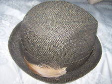 Mens Vintage Wool Hat-Mr. Casual by Hal Joseph Sz 7 1/4