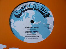 """CREATION STEPPER...HOMEWARD BOUND...ROOTS REGGAE DUB 12"""" SINGLE...MINTY CRISP"""