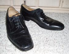 Men's MERCANTI FIORENTINI Genuine Leather Oxford Dress Shoes~Black~10.5 M
