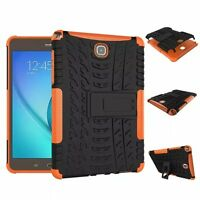 Rugged Shockproof Heavy Duty Rubber Case Cover For Samsung Tab A T350 T550 T380