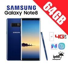 SAMSUNG GALAXY NOTE 8 SM-N950 64GB ORIGINAL LIBRE AZUL GARANTIA+CAJA+ACCESORIOS