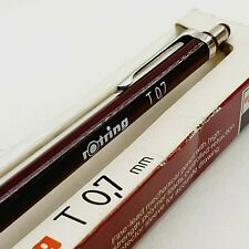VINTAGE ROTRING T 0.7 mechanical pencil 0.7mm in orig box 1980's