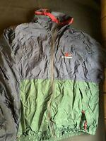 Mens Swingster windbreaker / jacket Size Xxl 2xl Ap Exhaust Products Blue Green