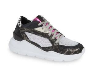 $315 - P448 E9 Leia Space Metallic Leather Sneaker Size 7 (37)