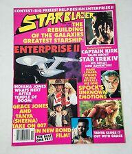 NOVEMBER 1984 STARBLAZER MAGAZINE STAR TREK II INDIANA JONES