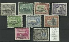 BR Guyane, local surimpression Full Set of 21Sg 420-440 (sauf 426 A) LM/M {C/W 286}