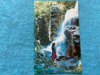 Avalanche Falls, Flume Gorge, White Mountains, New Hampshire Vintage Postcard