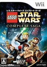 Used Wii LEGO Star Wars: The Complete Nintendo JAPAN JP JAPANESE JAPONAIS IMPORT