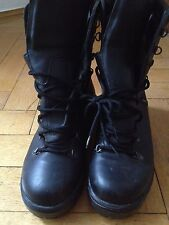 BRITISH ARMY GORETEX BOOTS PARA BOOTS SPRINGERSTIEFEL BLACK US 12 EUR UK 11