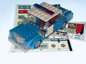 LEGO ARKHAM ASYLUM 70912 POLICE CAR AND FULL STICKERS IDEAL FOR 10278 - NEW