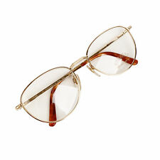 Authentic Gerald Genta Vintage Eyeglasses Gold Plated Success 02 135 mm