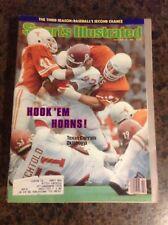 October 19 1981 Texas Oklahoma College Football Sports Illustrated Magazine NCAA