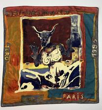 archive JEAN PAUL GAULTIER toro print handkerchief