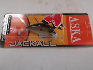 Discontinued Jackall ASKA 50SR,Square Bill,4 Footer, Bronze Green Shad