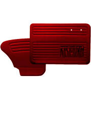 1965 - 1967 VW Volkswagen Bug Beetle Red Replacment Door Panels w/Pockets by TMI