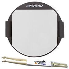 """Ahead AKPP Practice Pad 5"""" Knee Pad + KEEPDRUM Drumsticks"""