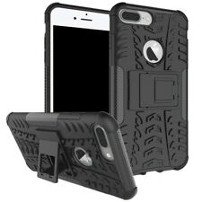 NUEVA Carcasa híbrida 2 piezas exterior negro para Apple iPhone 8 Y 7 Plus 5.5